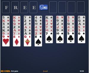 solitario spider – jogo de cartas